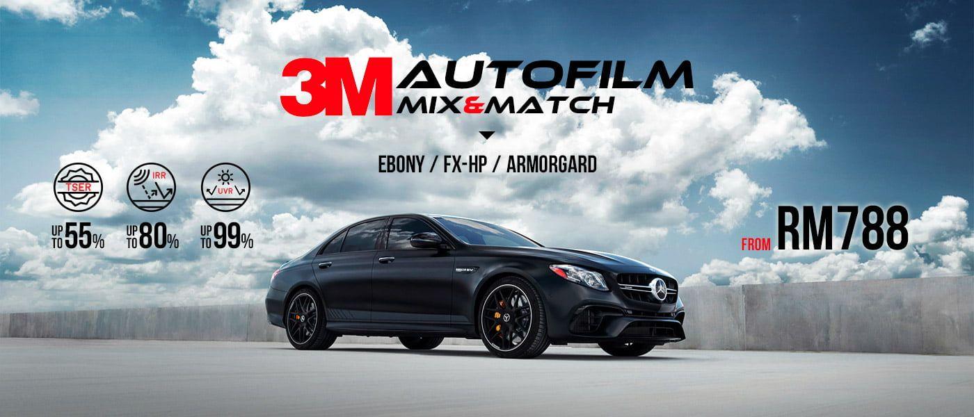 3M Autofilm promotion